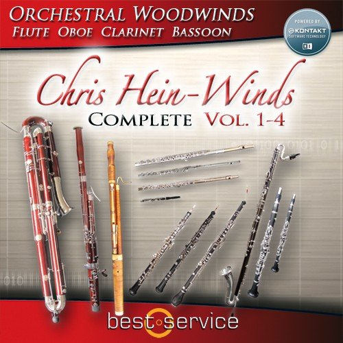 Best Service Chris Hein Winds Complete 13 Instrument Orchestral Wind Sample  Library [download]