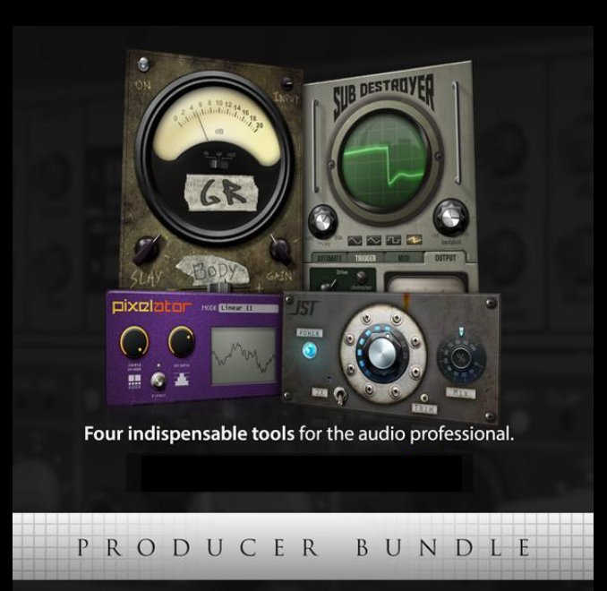 Joey Sturgis Tones PRODUCER-BUNDLE Four Indispensable JST Plugins  [download] | Full Compass