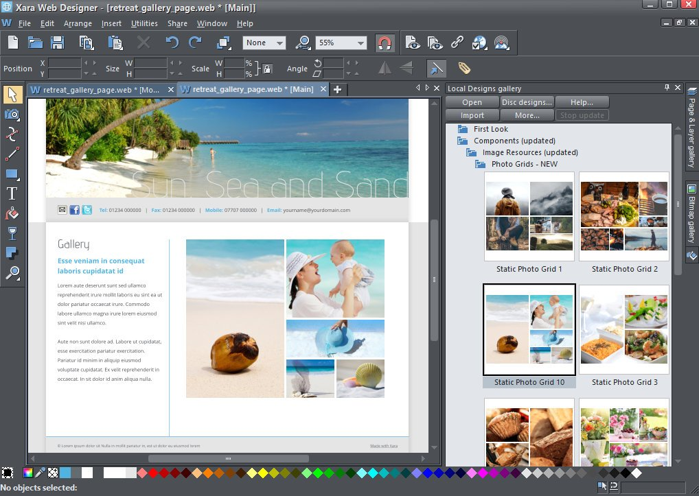 Magix Xara Web Designer Website Design Software Download Full Compass Systems