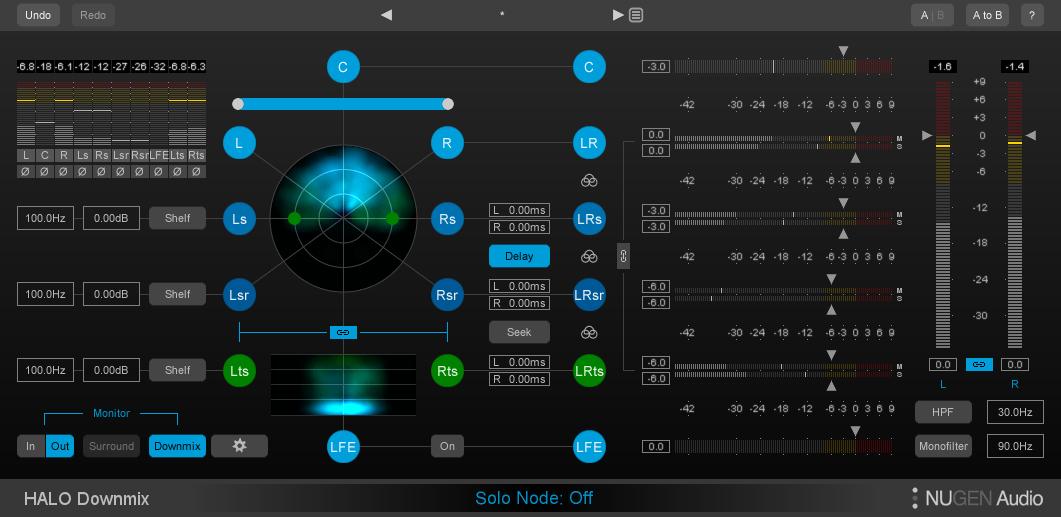 NuGen Audio HALO-DOWNMIX-3D-IMM Dolby Atmos Downmix
