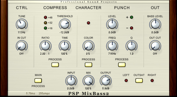 PSP PSP-MIXPACK2 6 High-resolution High Quality Plugins