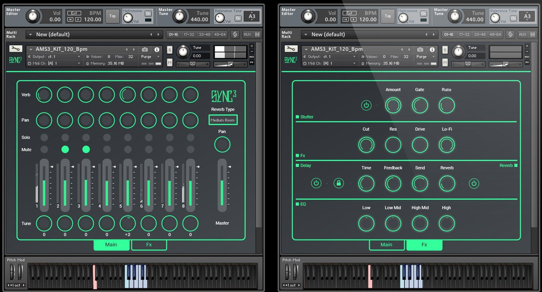 Audiomodern SYNC-3-AM Loop Based Samp for NI Kontakt, WAV, AIFF, REX  [download] | Full Compass