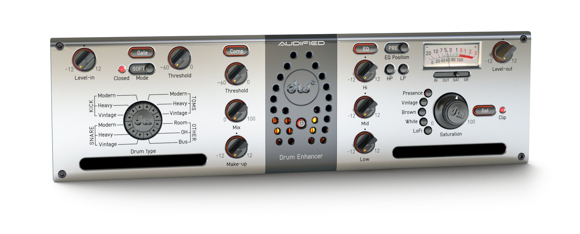 Eleven Dimensions Media DW-DRUM-ENHANCER The All-in-One Drum Processing  Tool [download] | Full Compass