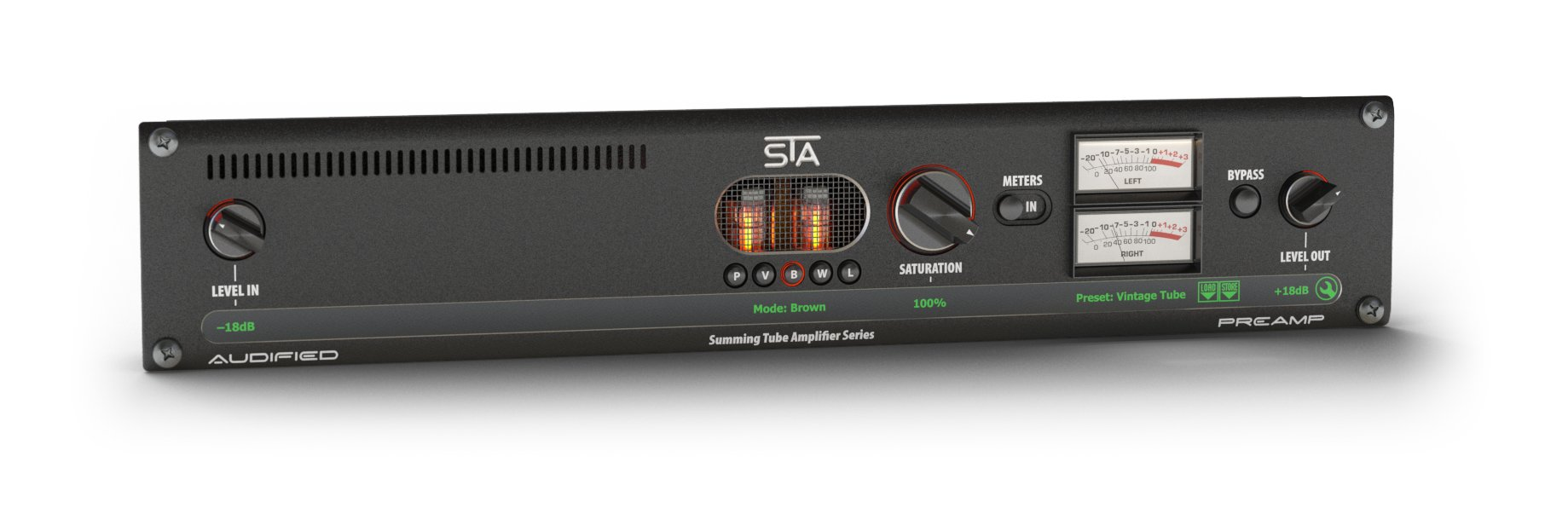 Eleven Dimensions Media STA-PREAMP-2 Preamp from Summing Tube Amp Series  [download] | Full Compass