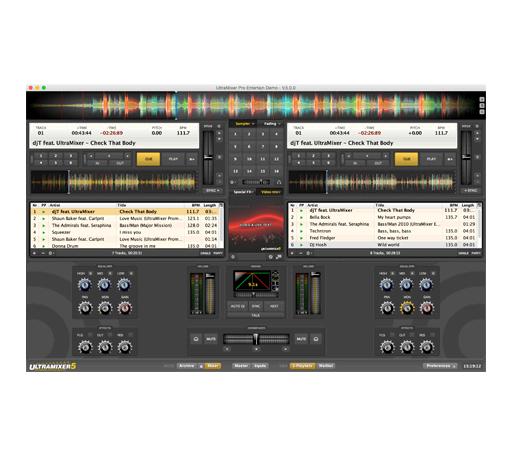 Eleven Dimensions Media ULTRAMIXER5-PRO Ultramixer 5 Pro Entertain DJ  Software [download] | Full Compass