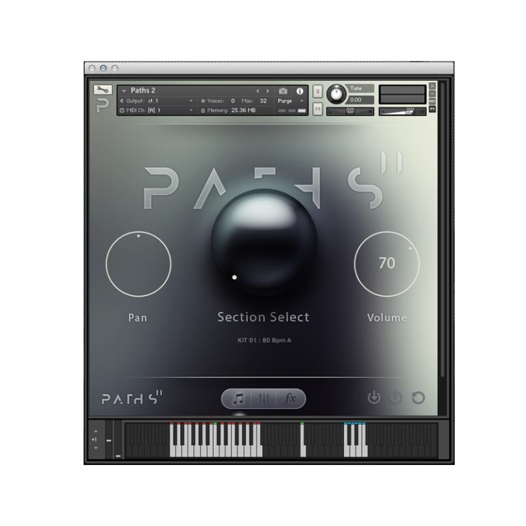 Audiomodern Paths 2 Atmospheric Loop-Based Sampler for NI Kontakt  [download]   Full Compass