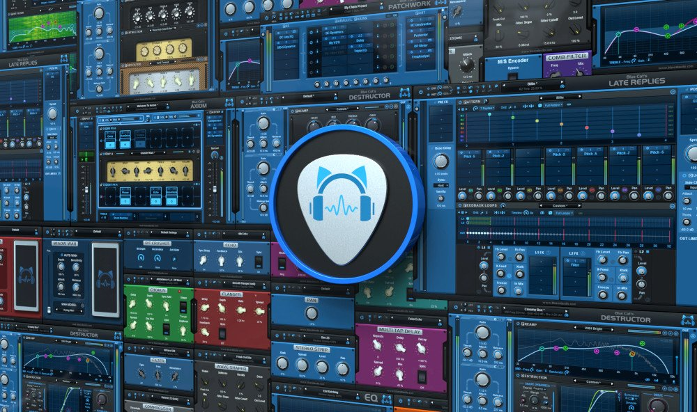 Blue Cat Audio Blue Cat Axe Pack Guitar/Bass FX Bundle [download]