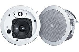 """4"""" Ceiling Speaker with Transformer for 70V/100V Systems in White"""