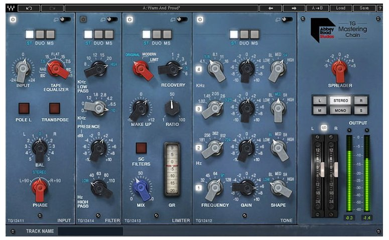 Waves Abrdtgmc Abbey Road Tg Mastering Chain Download Full Compass Systems