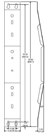 Wall Bracket for Control 23