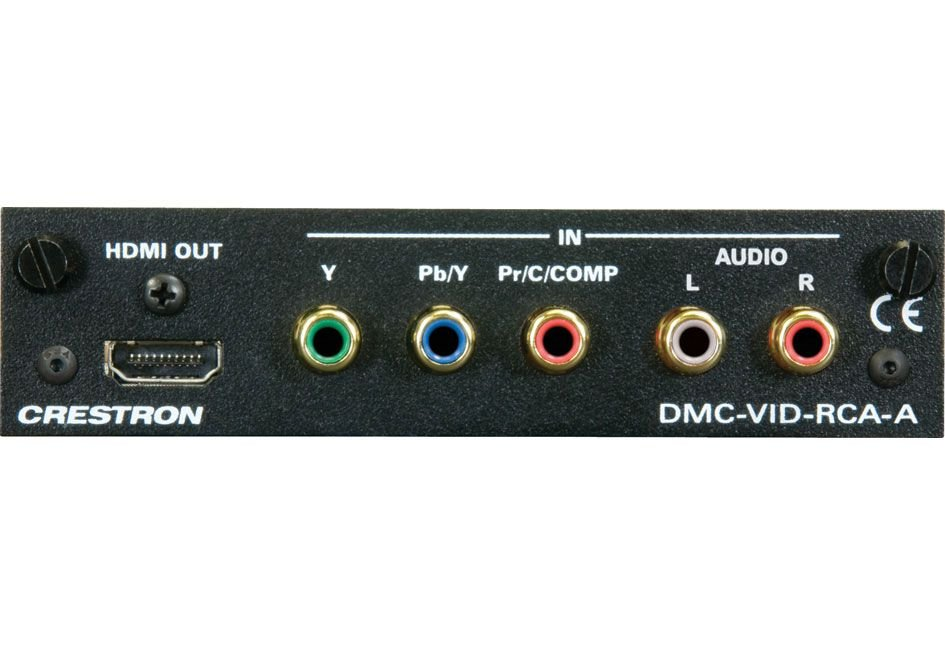 Crestron DMC-VID-RCA-A RCA Analog Video Input Card w/Analog Audio for DM®  Switchers | Full Compass