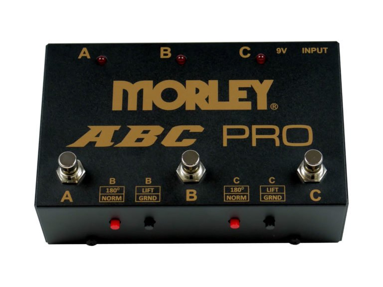 Morley ABC-PRO Three Input Selector Combiner, With Ground Lift, Polarity  Switch and True Bypass   Full Compass
