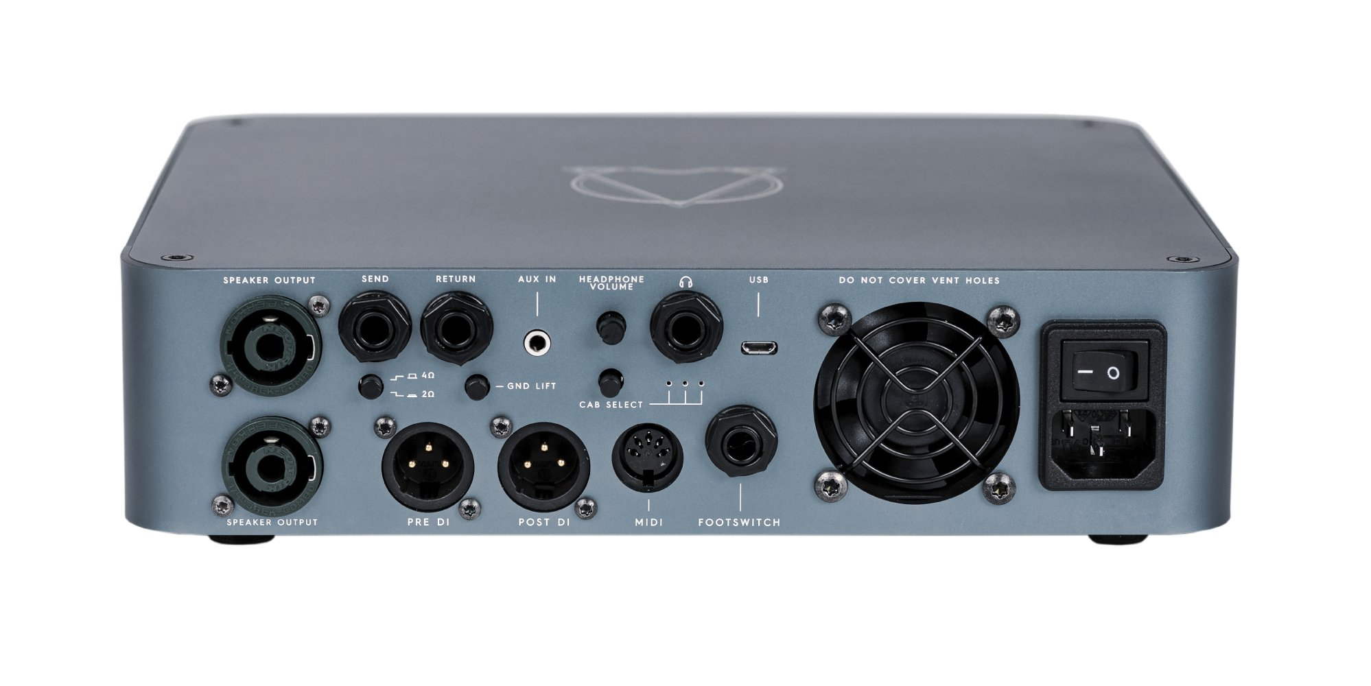 Darkglass Electronics AO900 900W Bass Head With Distortion, VCA