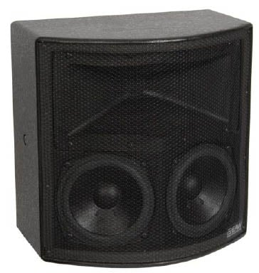 2-Way Compact Speaker System in Black