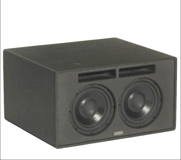 "EAW-Eastern Acoustic Wrks SB48zP 8"" Dual Subwoofer SB48ZP-BLACK"