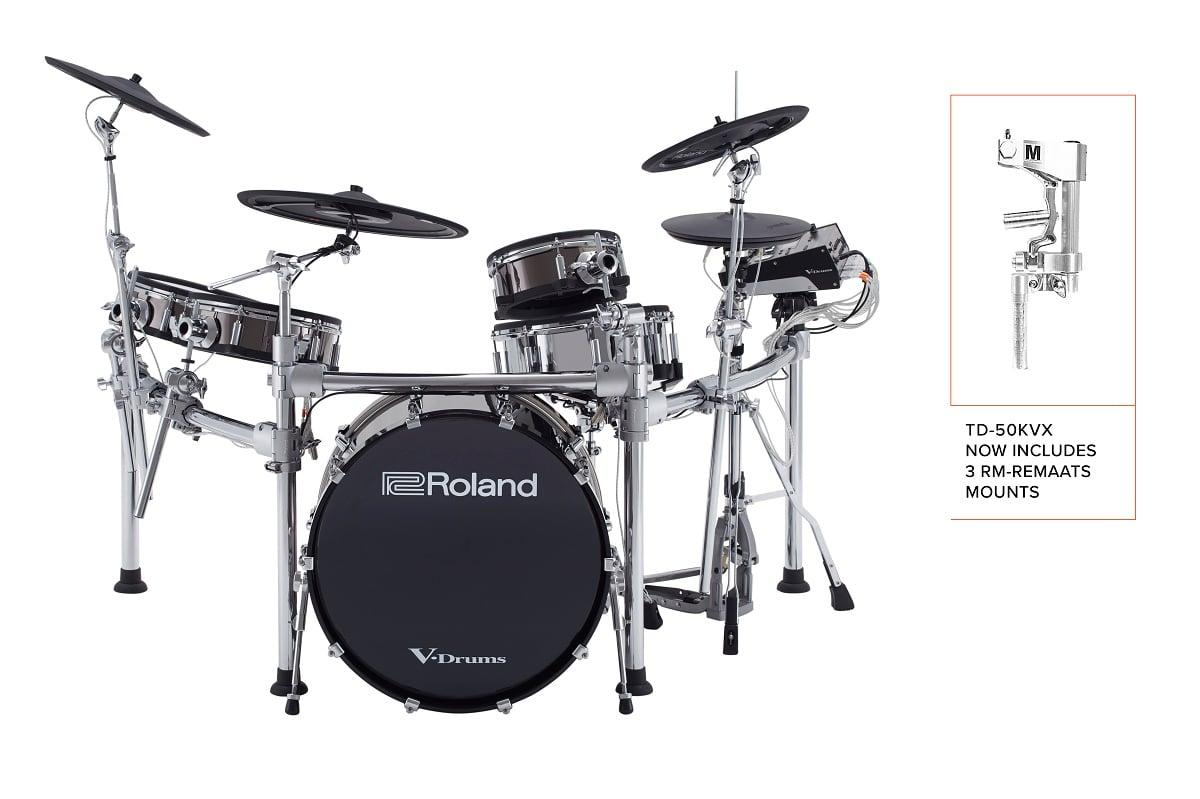 Roland TD-50-KVX-S 5-piece Electronic Drum Set With 22
