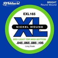 Regular Light Top/Medium Bottom Nickel Wound Long Scale Electric Bass Strings