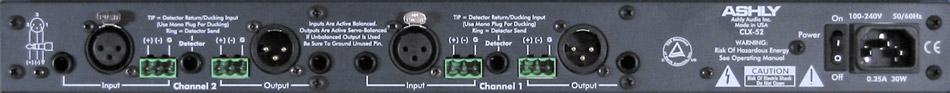 Stereo/Dual Peak Compressor/Limiter