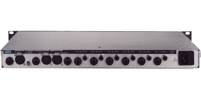 6-Channel Studio Headphone Amplifier