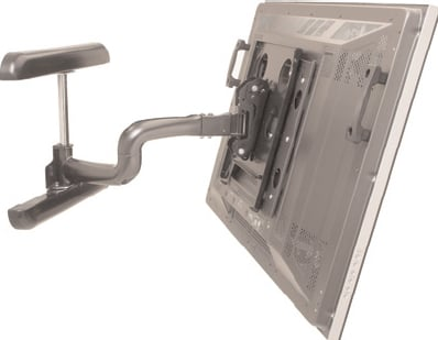 Single Arm Dual Universal Large Flat Panel Display Mount