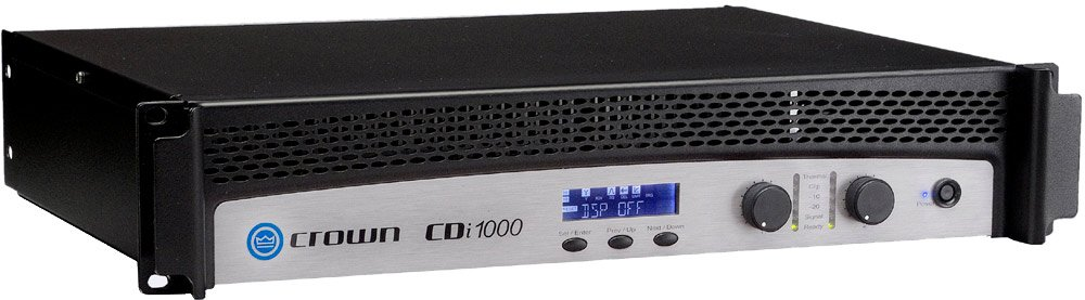 cdi 1000 contractor series dual channel 500 watts 4 ohms power amplifier by crown cdi1000. Black Bedroom Furniture Sets. Home Design Ideas