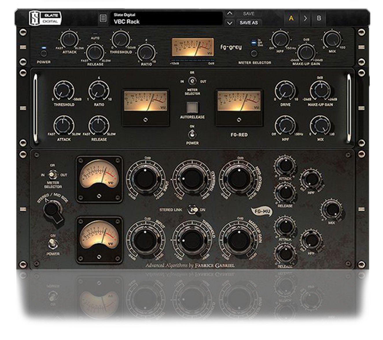 Slate Digital Virtual Buss Compressors (download) Classic Buss Compression  Software Plug-in | Full Compass