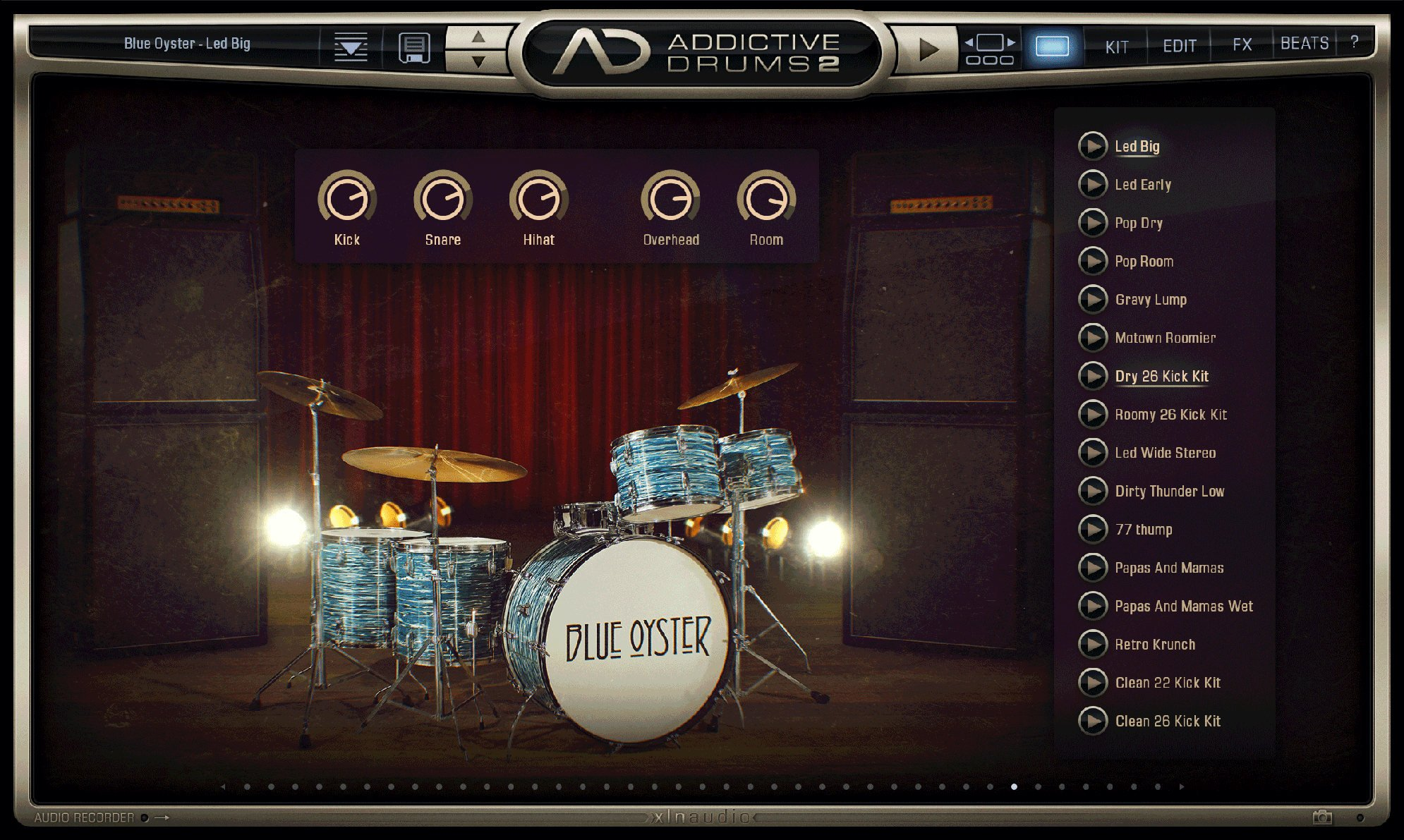 XLN Audio AD2-BLUE-OYSTER The Sound Of Classic Rock [download