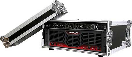 """4RU, 18"""" D Deluxe Amp Rack Case"""