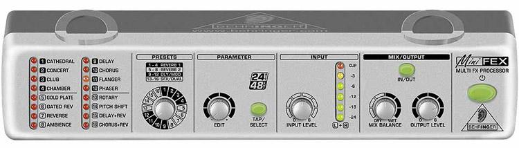 24-Bit Stereo Multi-FX Processor