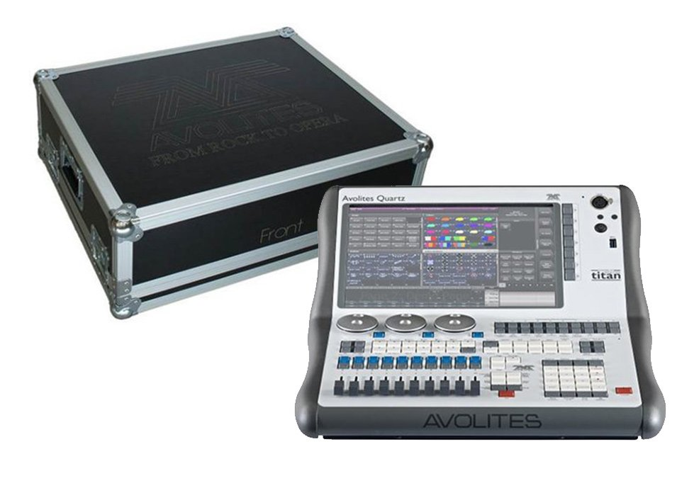 Avolites 31 01 2210 Pt Lighting Control Console With Flight