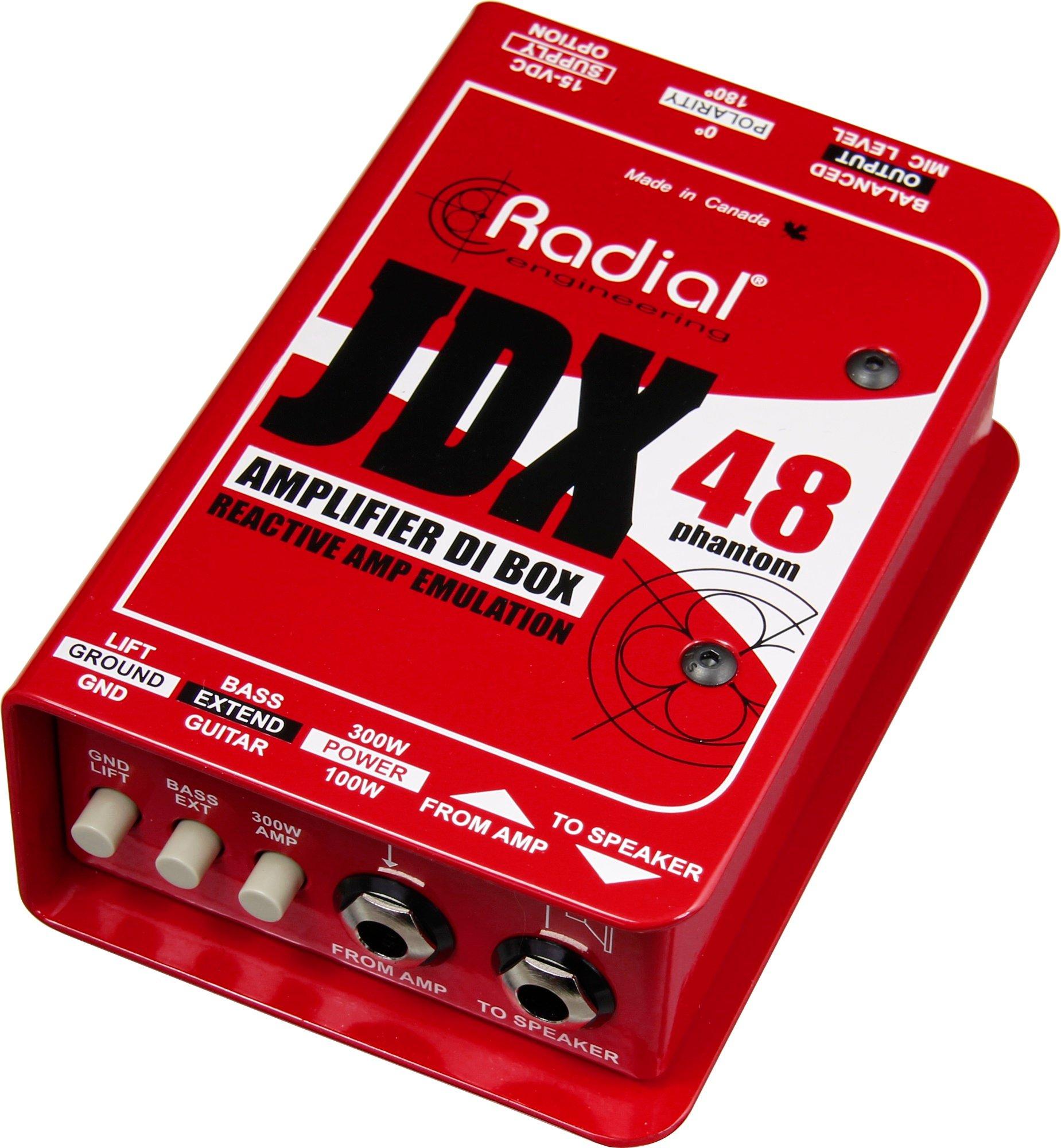 Radial Engineering JDX-48 Guitar Amp DI With Speaker