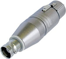 Neutrik Na4Fx-M Nl4Fx to 3 Pin XLR Male Cable End Adapter