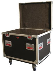 ATA Tour-Style Truck-Pack Road Trunk (with Casters)