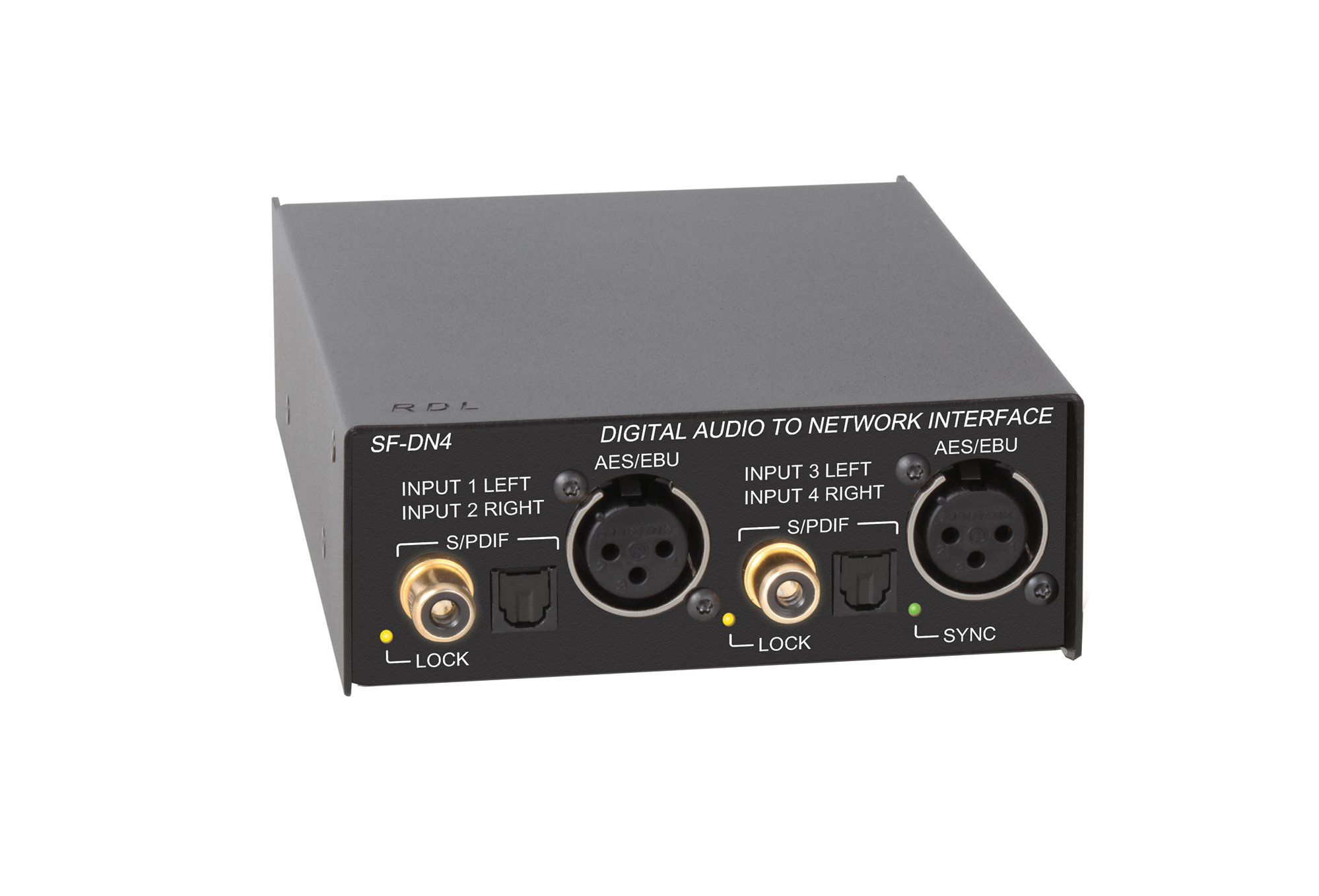 Rdl Sf Dn4 Digital Audio To Network Interface With Dante