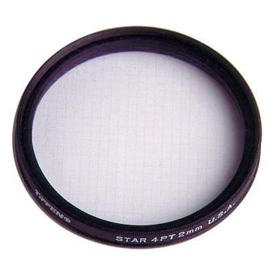 Star Effect Filter, 4pt-2mm grid, 52mm
