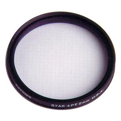 Star Effect Filter, 4pt-2mm grid, 58mm