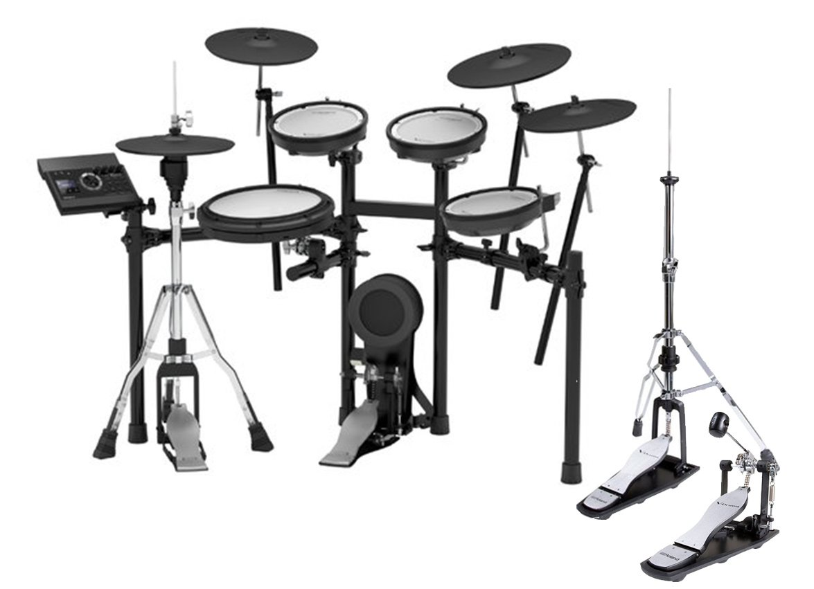 Roland TD-17KVX-K 5-Piece Electronic Drum Kit With Noise
