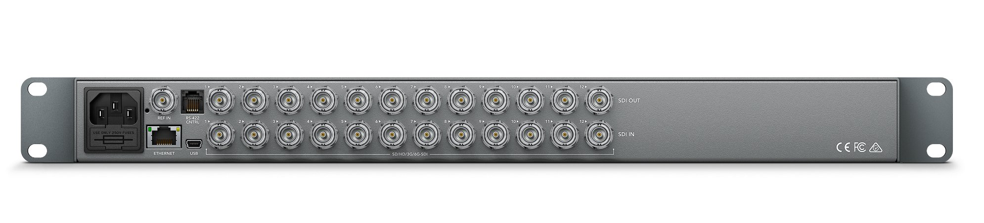 Blackmagic Design Vhubsmtcs6g1212 Routing Switcher With Frame Syncing Full Compass Systems