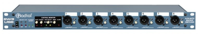 radial engineering sw8 usb 8 channel interface with dual usb inputs and mtc for redundant. Black Bedroom Furniture Sets. Home Design Ideas