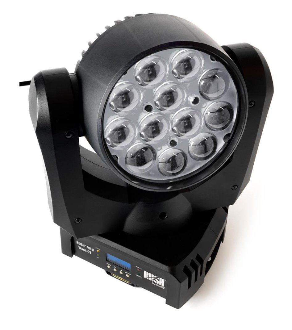 Martin Pro RUSH-MH-6-CT 12x10W WW / CW LED Moving Head Wash