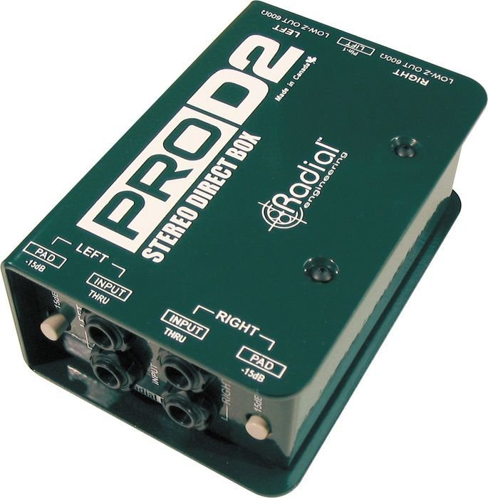 Dual Channel Passive Direct Box