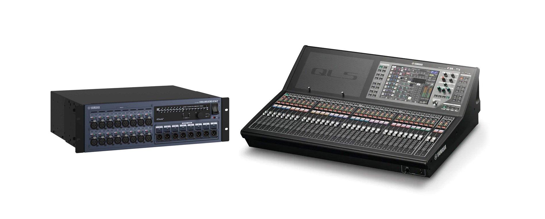 Mixer Yamaha Ql5 : yamaha ql5 promo digital mixer and rio1608 d2 stagebox bundle full compass systems ~ Russianpoet.info Haus und Dekorationen