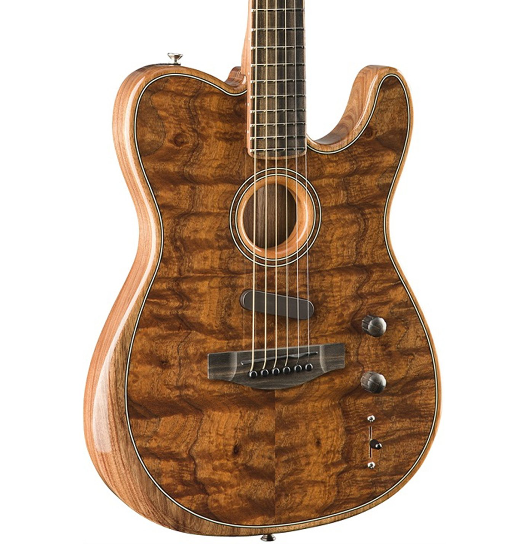 Fender TELE-ACSTASONIC-KOA Hybrid Acoustic-Electric