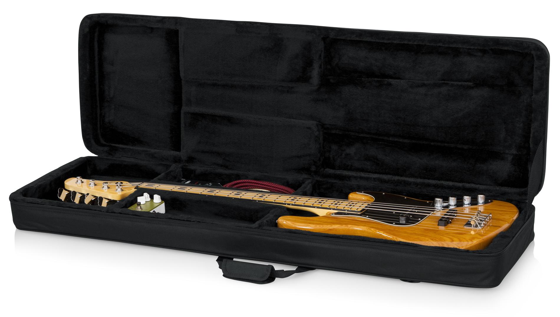 gator gl bass lightweight electric bass guitar case full compass systems. Black Bedroom Furniture Sets. Home Design Ideas