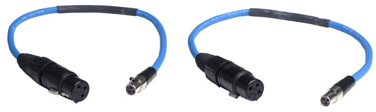 Interconnect Cable XLR-F to TA3F Pack of 2