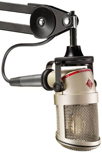 Large Diaphragm Cardioid Condenser Broadcast Microphone