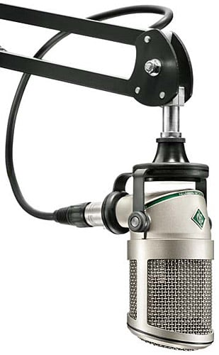 Small Diaphragm Hypercardioid Dynamic Broadcast Microphone