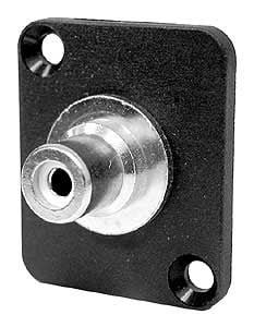 RCA-BNC Isolated Feed Through, Panel Mount