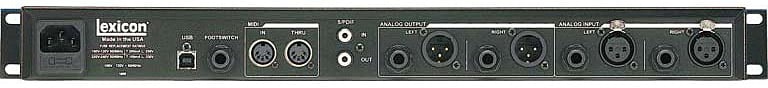 Stereo Reverb Effects Processor