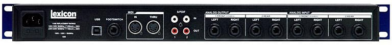 Lexicon MX400 Dual Stereo/Surround Reverb MX400-LEXICON